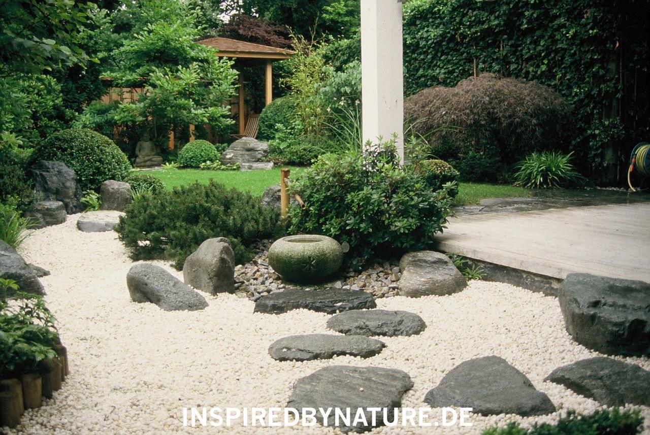 Bilder japanese inspired gardens - Japangarten pflanzen ...